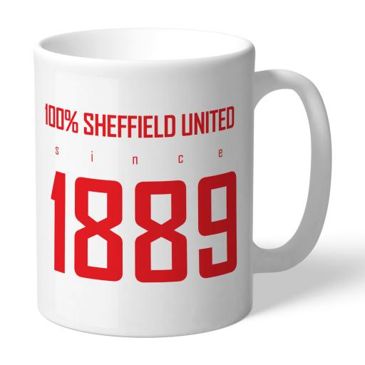 Sheffield United FC 100 Percent Mug