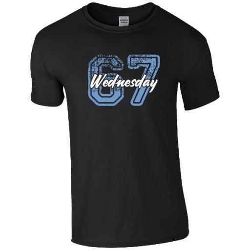 Sheffield Wednesday FC Varsity Number T-Shirt