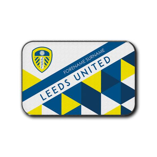 Leeds United FC Patterned Rear Car Mat