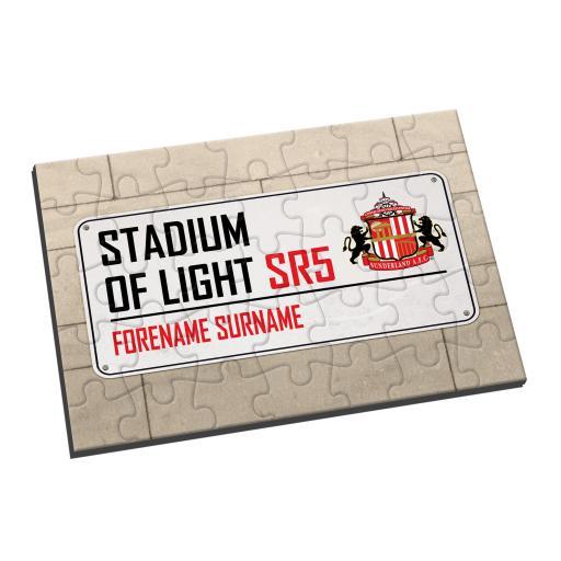 Sunderland AFC Street Sign Jigsaw