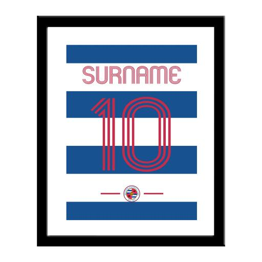 Reading FC Retro Shirt Print