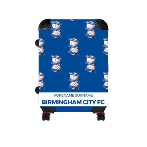 Personalised Birmingham City Mini Crest Cabin Suitcase.
