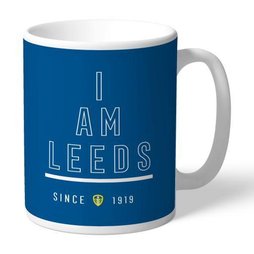Personalised Leeds United FC I Am Mug.