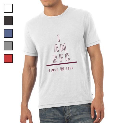 Burnley FC I Am Mens T-Shirt