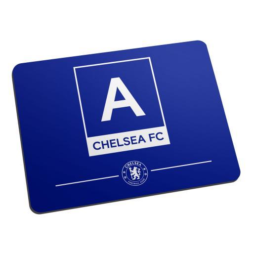 Chelsea FC Monogram Mouse Mat