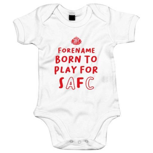 Sunderland AFC Born to Play Baby Bodysuit