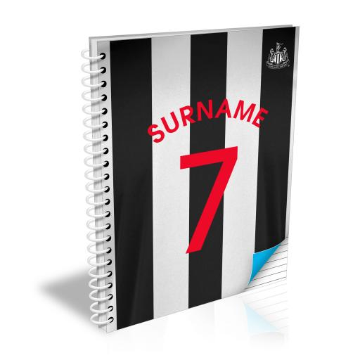 Newcastle United FC Shirt Notebook