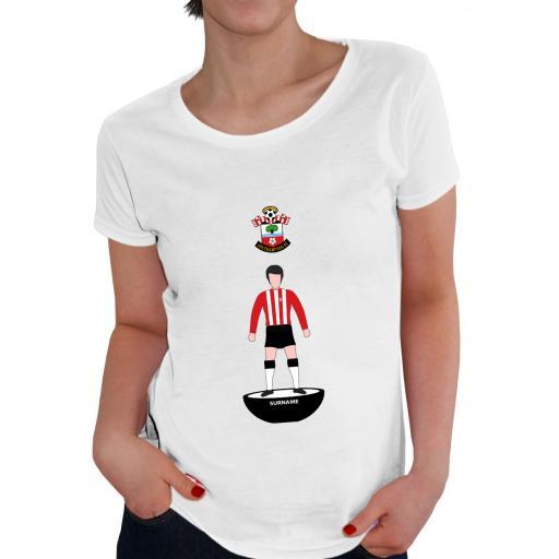 Southampton FC Player Figure Ladies T-Shirt