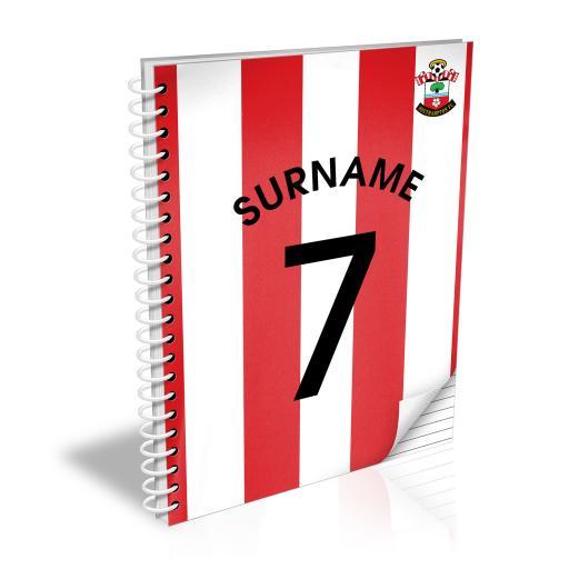 Southampton FC Shirt Notebook
