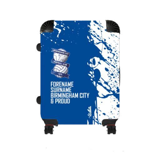 Personalised Birmingham City Proud Medium Suitcase.