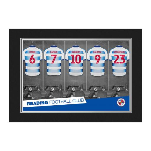 Reading FC 9x6 Dressing Room Photo Folder
