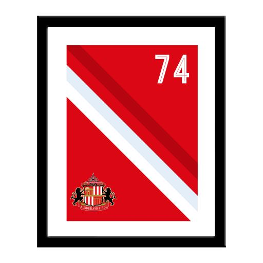 Sunderland AFC Stripe Print