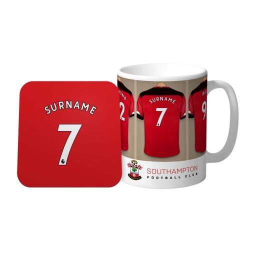 Southampton FC Dressing Room Mug & Coaster Set