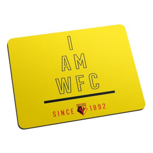 Watford FC I Am Mouse Mat