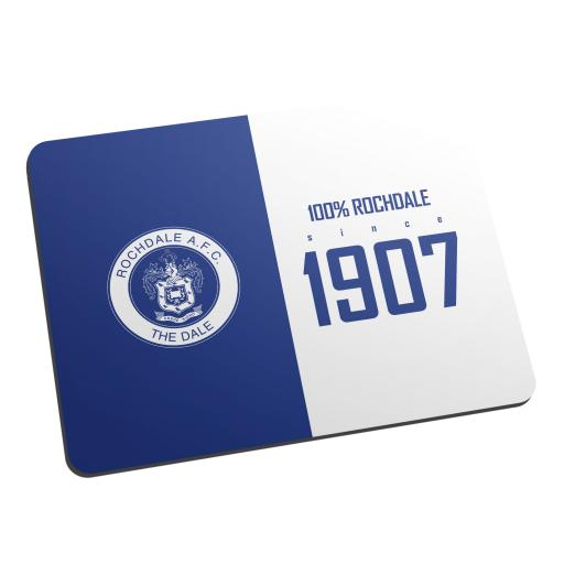 Rochdale AFC 100 Percent Mouse Mat