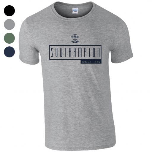 Southampton FC Art Deco T-Shirt