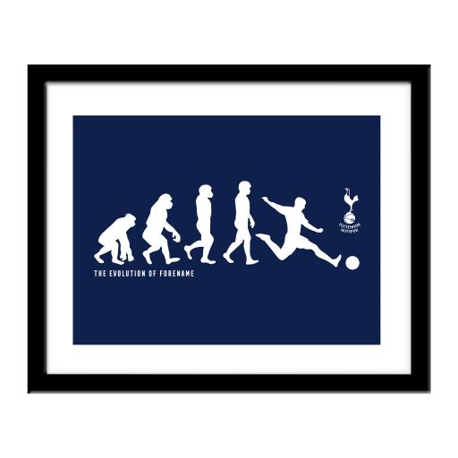 Tottenham Hotspur Evolution Print