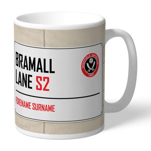 Sheffield United FC Street Sign Mug