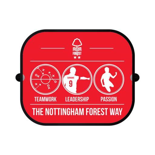 Nottingham Forest FC Way Car Sunshade