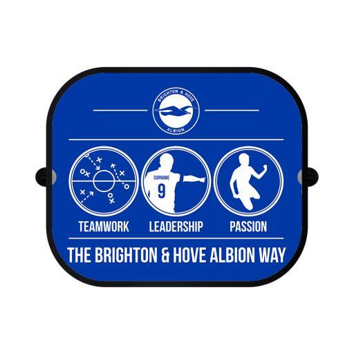 Brighton & Hove Albion FC Way Car Sunshade