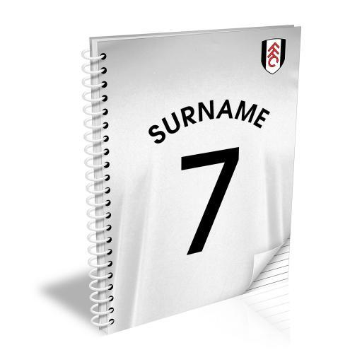 Fulham FC Shirt Notebook