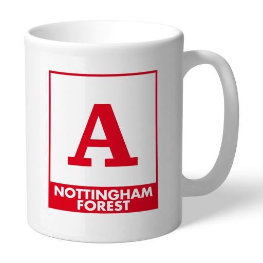 Nottingham Forest FC Monogram Mug