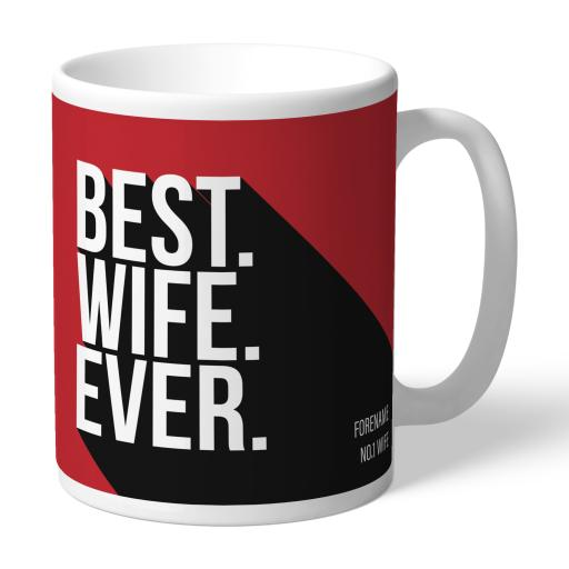 Personalised Middlesbrough Best Wife Ever Mug.