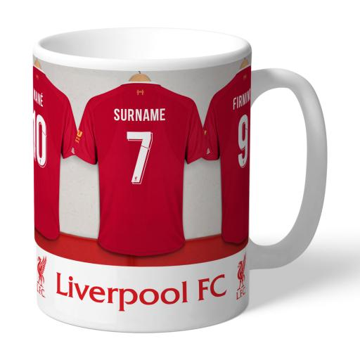 Liverpool FC Dressing Room Mug