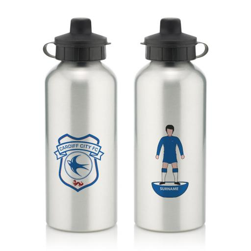 Cardiff City Player Figure Water Bottle