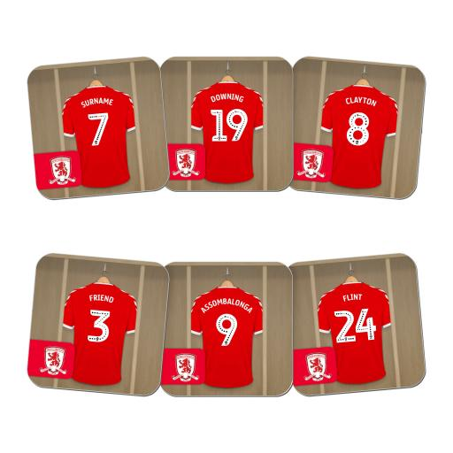 Middlesbrough FC Dressing Room Coasters