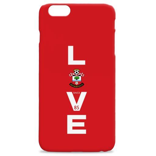 Southampton FC Love Hard Back Phone Case