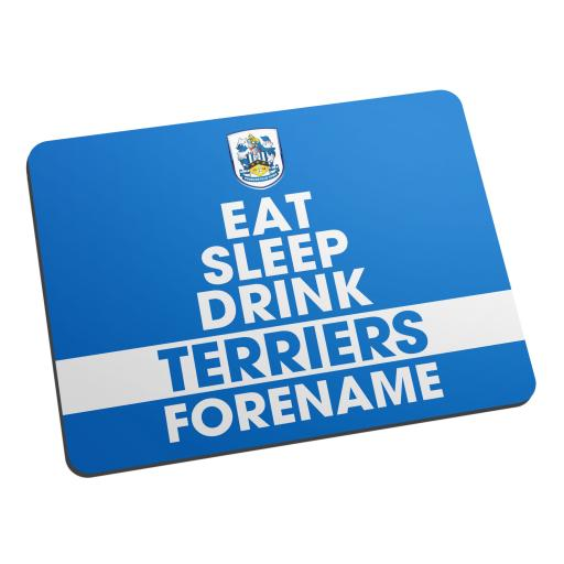 Huddersfield Town Eat Sleep Drink Mouse Mat