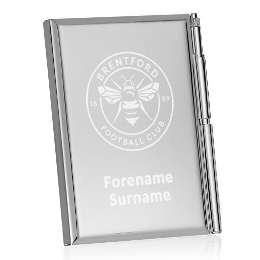 Brentford FC Crest Address Book