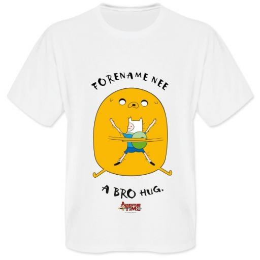Adventure Time Bro Hug Mens T-shirt