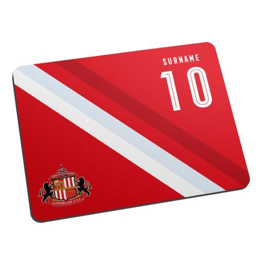 Sunderland AFC Stripe Mouse Mat