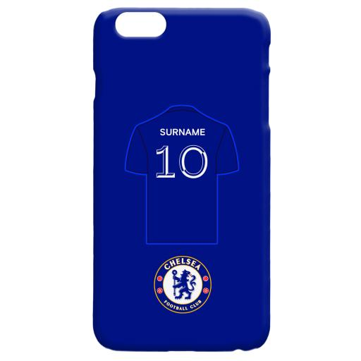Chelsea FC Shirt Hard Back Phone Case