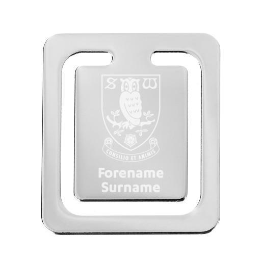 Sheffield Wednesday FC Crest Bookmark