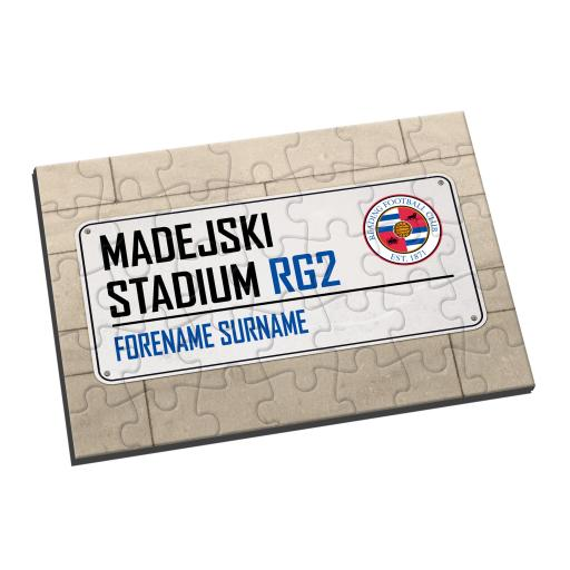 Reading FC Street Sign Jigsaw