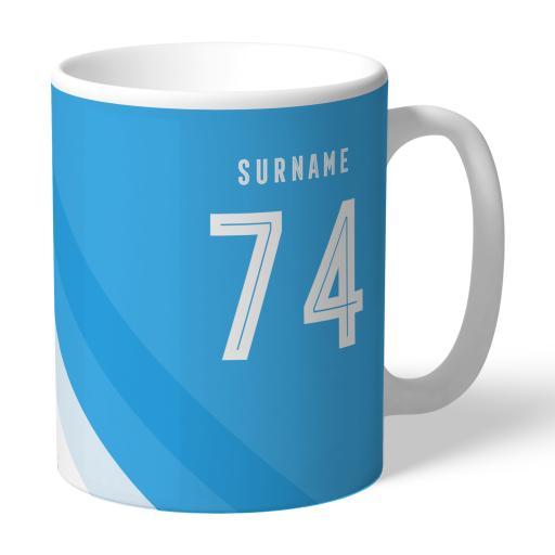 Manchester City FC Stripe Mug