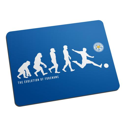 Personalised Leicester City FC Evolution Mouse Mat.