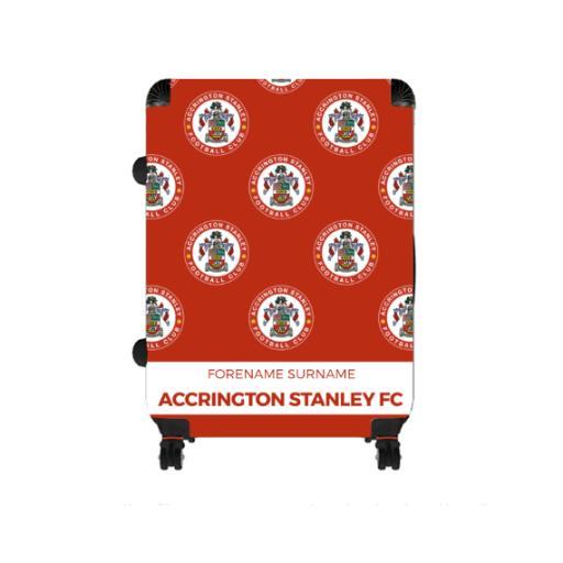 Accrington Stanley Mini Crest Large Suitcase