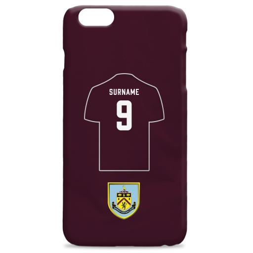 Burnley FC Shirt Hard Back Phone Case