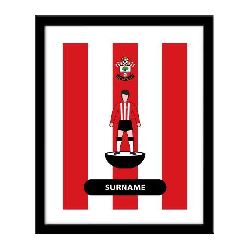 Southampton FC Player Figure Print