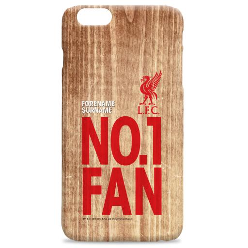 Liverpool FC No 1 Fan Hard Back Phone Case