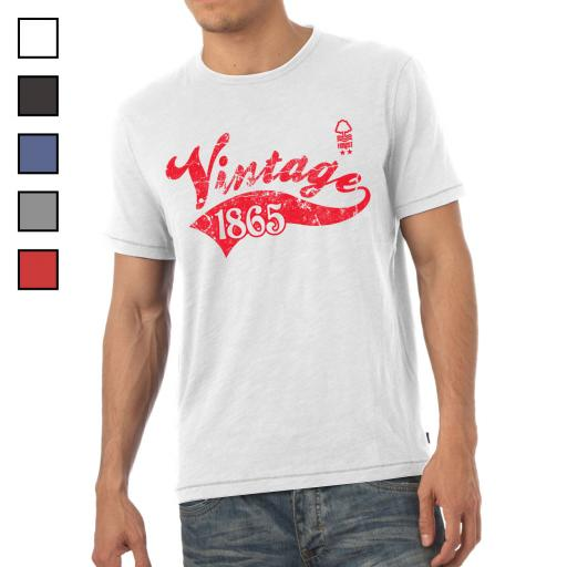 Nottingham Forest FC Mens Vintage T-Shirt