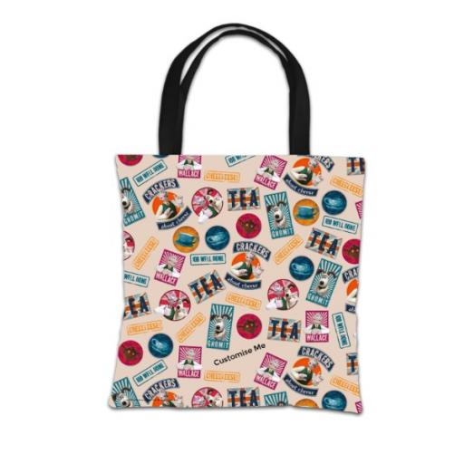 Aardman Wallace And Gromit Print Tote Bag