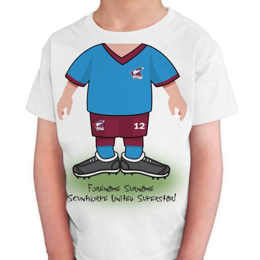 Scunthorpe United FC Kids Use Your Head T-Shirt