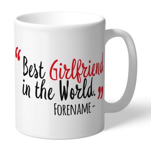 Sunderland Best Girlfriend In The World Mug