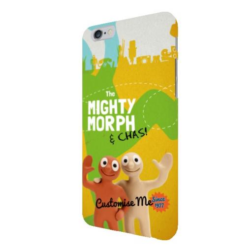 Aardman Morph The Mighty Morph & Chas iPhone 6/6s Clip Case