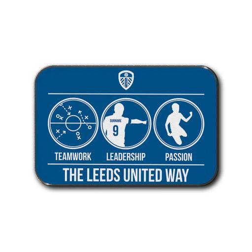 Leeds United FC Way Rear Car Mat